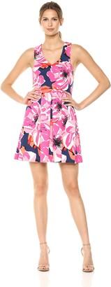 Trina Turk Trina Women's Marcia 2 Fit and Flare Dress