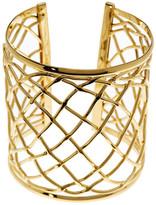 Argentovivo 18K Gold Plated Cutout Cuff