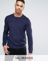 Ted Baker Tall Rib Knitted Jumper