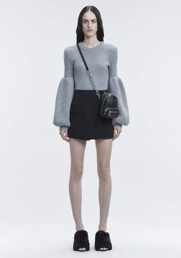 Alexander Wang WOOL CASHMERE PULLOVER TOP