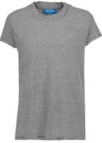 MiH Jeans Striped Cotton And Linen-Blend T-Shirt
