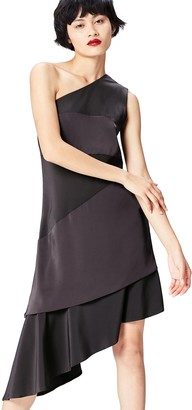 Find. Amazon Brand Women's Midi One-shoulder Dress