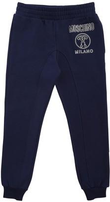 Moschino Logo Cotton Sweatpants