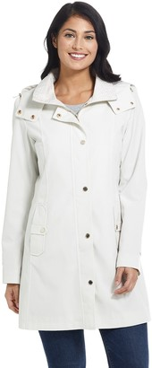 Gallery Women's Hooded Rain Coat