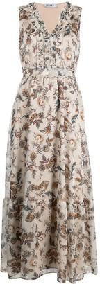 Liu Jo Paisley-Print Sleeveless Dress
