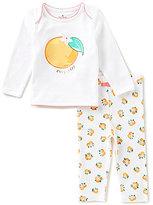Kate Spade Baby Girls 3-9 Months Orange Top & Orange-Printed Leggings Set