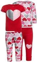 Carter's HEART 2 PACK Pyjamas red
