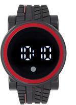 FASHION WATCHES Mens Black Strap Watch-33554