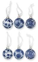 Williams-Sonoma Williams Sonoma Ceramic Ornaments, Set of 6