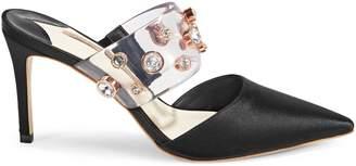 Sophia Webster Dina Embellished Mid Mules