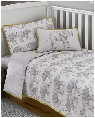 Little Knightley's by Samantha Faiers - Elephant Trail Cot Bed Duvet Cover Set (includes pillowcase)