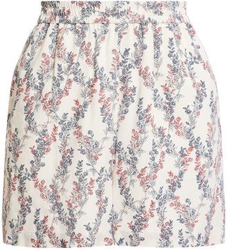 BCBGMAXAZRIA Stream of Bloom Shorts