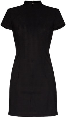 Marcia Perforated Mini Dress