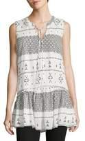 Vero Moda Geo-Print Peasant Tunic