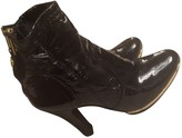 Tory Burch Black Patent leather Ankle boots