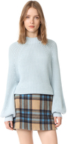 Apiece Apart Sequoia Mock Turtleneck Sweater