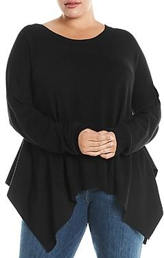 Estelle Plus Handkerchief Hem Sweater