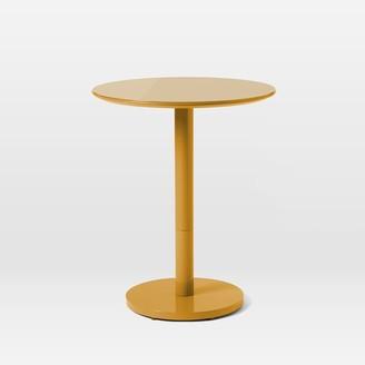 west elm Chroma Bistro Table - Marigold