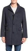Billy Reid Men's 'Astor' Three-Button Wool Overcoat