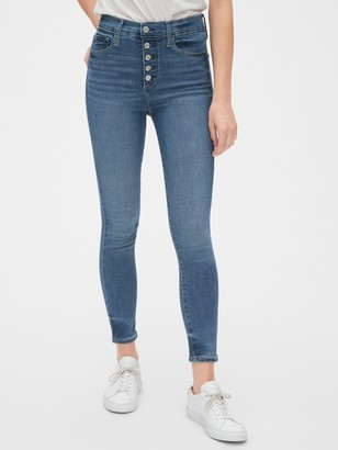 Gap High Rise Favorite Jeggings with Secret Smoothing Pockets