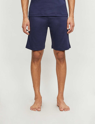 Zimmerli Relaxed cotton pyjama shorts