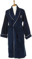 Gant Men's Navy Crest Logo Robe