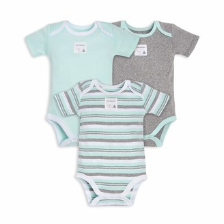 Burt's Bees Baby Baby Bodysuits 3-Pack Long & Short One-Pieces 100% Organic Cotton