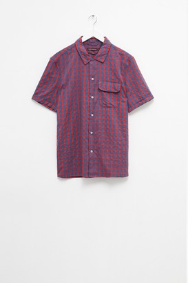 French Connection Melange Gingham Check Shirt