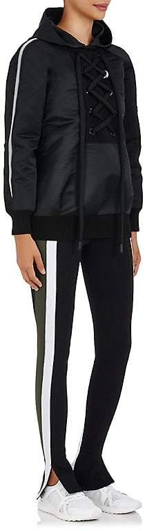 NO KA 'OI No Ka'Oi Women's Nele Lace-Up Tech-Satin Jacket
