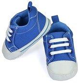 Luvable Friends Basic Canvas Sneaker (Infant)