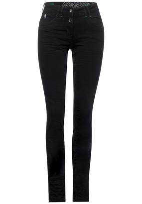 Cecil Women's 373522 Style Scarlett Loose Fit Slim Legs Jeans