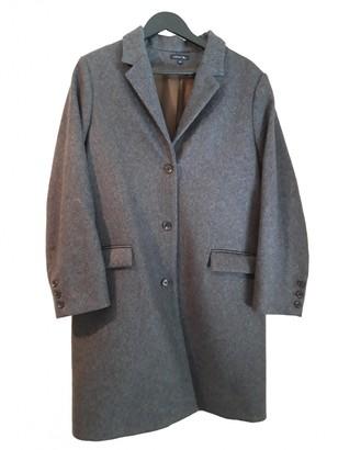 soeur Grey Cashmere Coats