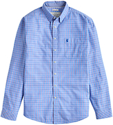 Joules W Welford Small Check Shirt, Storm Blue Check