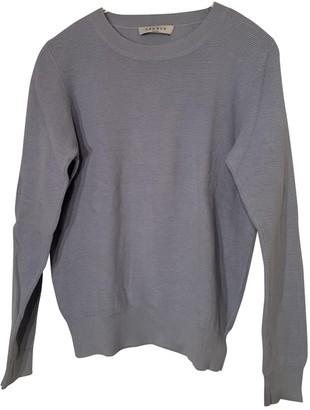Sandro Blue Cotton Knitwear for Women