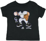 Majestic Toddler Boys' Colorado Rockies Pint-Sized Pitcher T-Shirt
