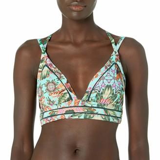 OndadeMar Women's Strappy Triangle Bikini Top