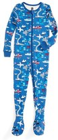 Tea Collection Infant Boy's Japan Fitted One-Piece Pajamas