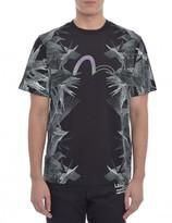 Evisu Multi Bird Outline T Shirt