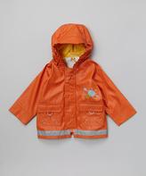 Kushies Orange Raincoat - Infant