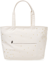 Kate Spade Women's Wedding Belles Hashtag Tote