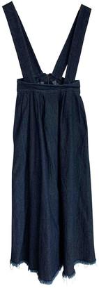 Opening Ceremony Blue Denim - Jeans Dresses