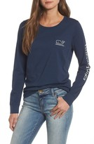 Vineyard Vines Women's New Years Scene Pocket Tee