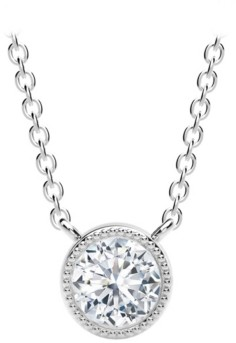 Forevermark Tribute Collection Diamond (1/2 ct. t.w.) Necklace in 18k Yellow, White and Rose Gold