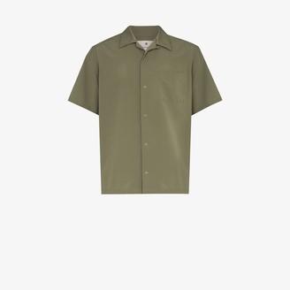 Snow Peak Snap Button Bowling Shirt
