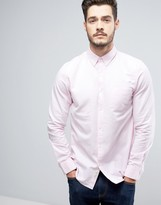 Jack Wills Wadsworth Regular Fit Oxford Shirt in Pink