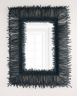 Amaya Palecek Beaded Mirror