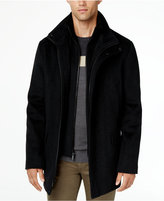 Calvin Klein Men's Wool Blend Herringbone Car Coat