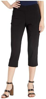 Krazy Larry Pull-On Capri Pants (Black) Women's Casual Pants