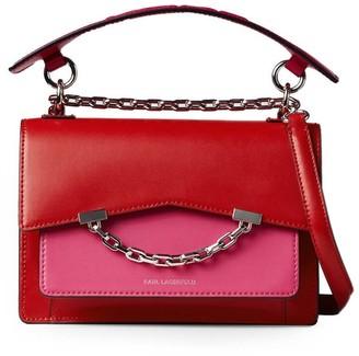 Karl Lagerfeld Paris Seven K Fuchsia Crossbody Bag
