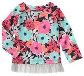Gymboree Floral Top
